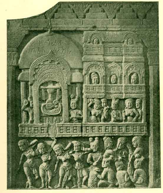 FIG. 5. — Sudhammo: The mote-hall of the god
