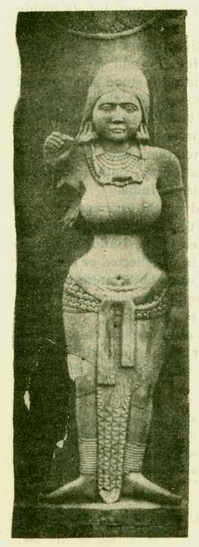 Fig. 36 Sirima Devata. [From the Bharahat Tope. Pl. xxiii.]