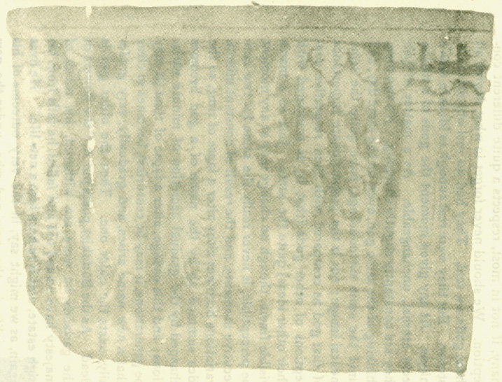 Fig. 45 The Buddha Preaching To Nagas Dwelling In A Sacred Tree. From A Buddhist Carving At Takt-I-Bahi. [J.R.A.S. 1899.]